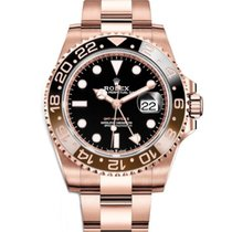 Rolex GMT-Master II Rose gold 40mm Black Australia