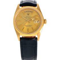 Rolex Day-Date 36 18038 Veldig bra Gult gull 36mm Automatisk