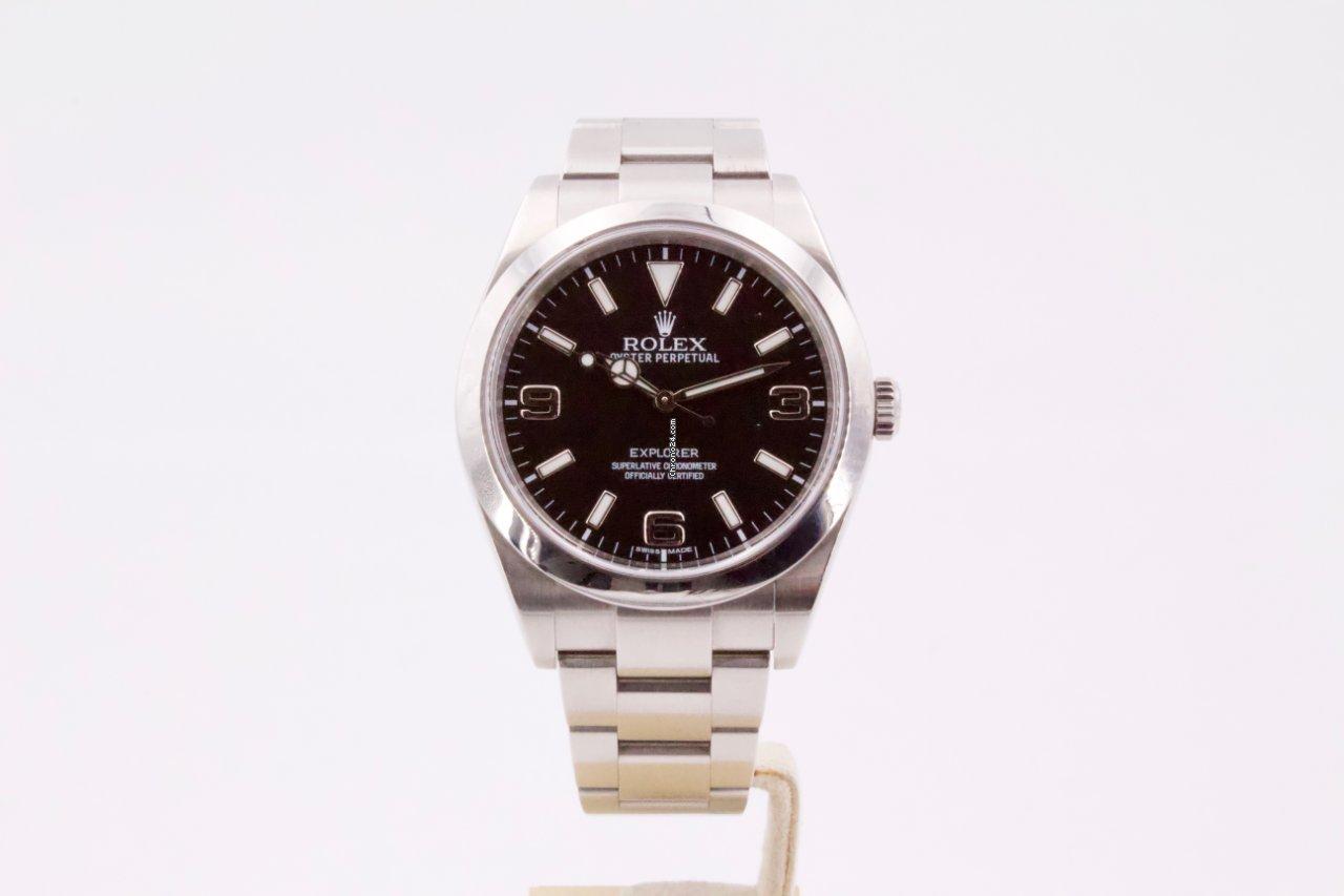 Rolex Explorer 214270 2013 rabljen