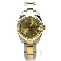 Rolex Lady-Datejust 179173 Nenošené Zlato/Ocel 26mm Automatika
