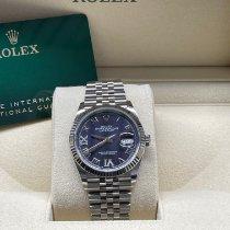 Rolex Datejust II Acier 36mm Violet Sans chiffres Belgique, Antwerp