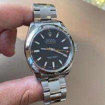 Rolex 116400 Staal 2010 Milgauss 40mm tweedehands