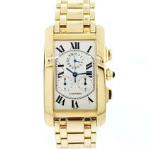 Cartier Tank Américaine Yellow gold 45mm White Roman numerals United States of America, New York, New York