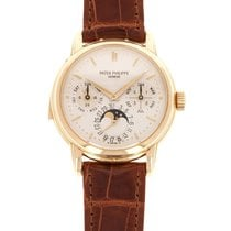 Patek Philippe Minute Repeater Perpetual Calendar Yellow gold 36mm Silver United States of America, California, Beverly Hills