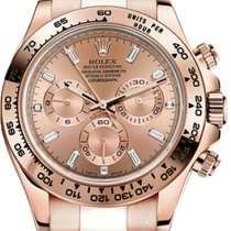 Rolex Daytona Red gold 40mm Pink No numerals United States of America, New York, New York