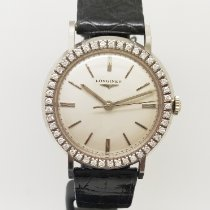 Longines White gold 35mm Manual winding pre-owned