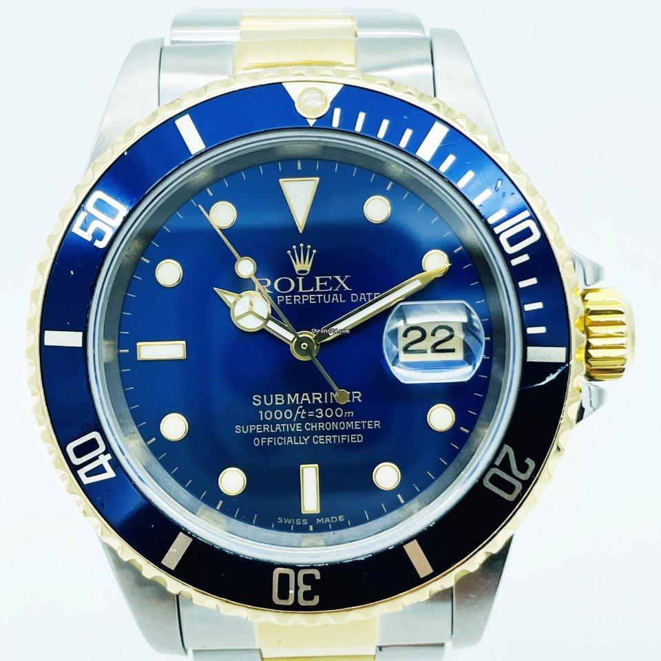 Rolex Submariner Date 16613 Sultan 2000 usados