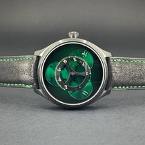 H.Moser & Cie. Endeavour Steel 42mm Green