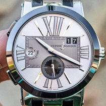Ulysse Nardin Executive Dual Time Steel 43mm Silver United States of America, Texas, Plano