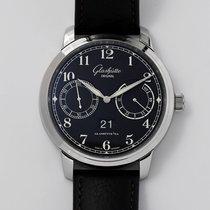 Glashütte Original Senator Observer Steel 44mm Black Arabic numerals