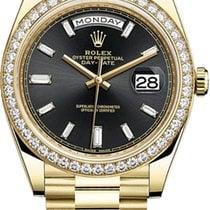 Rolex Day-Date 40 Yellow gold 40mmmm Black United States of America, New York, New York