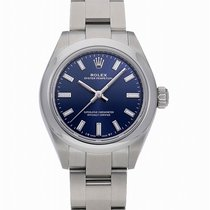 Rolex Oyster Perpetual Steel 28mm Blue
