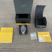 Breitling Superocean Heritage Chronograph Acier 44mm Noir Arabes