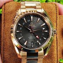 Omega Seamaster Aqua Terra Red gold 43mm Grey No numerals United States of America, Illinois
