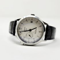 Zenith Elite Dual Time Steel 39mm Silver Arabic numerals United States of America, Massachusetts, Holden