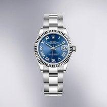 Rolex Lady-Datejust White gold 31mmmm Blue Roman numerals United States of America, New York, New York