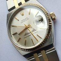 Rolex Datejust Oysterquartz Gold/Steel 36mm White No numerals