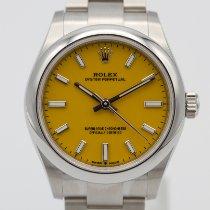 Rolex Oyster Perpetual 31 Aço 31mm Amarelo Sem números