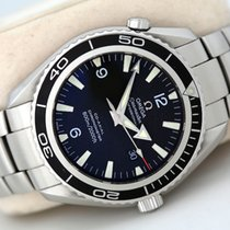 Omega Seamaster Planet Ocean Steel Black Arabic numerals