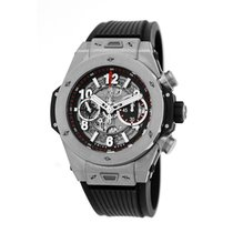 Hublot Big Bang Unico pre-owned 45mm Chronograph Flyback Date Fold clasp