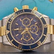 Zenith El Primero Chronograph Acero y oro 40mm Azul Sin cifras