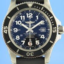Breitling Superocean II 44 Steel 44mm Black
