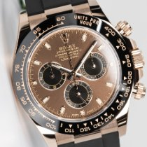 Rolex Daytona Rose gold 40mm Brown