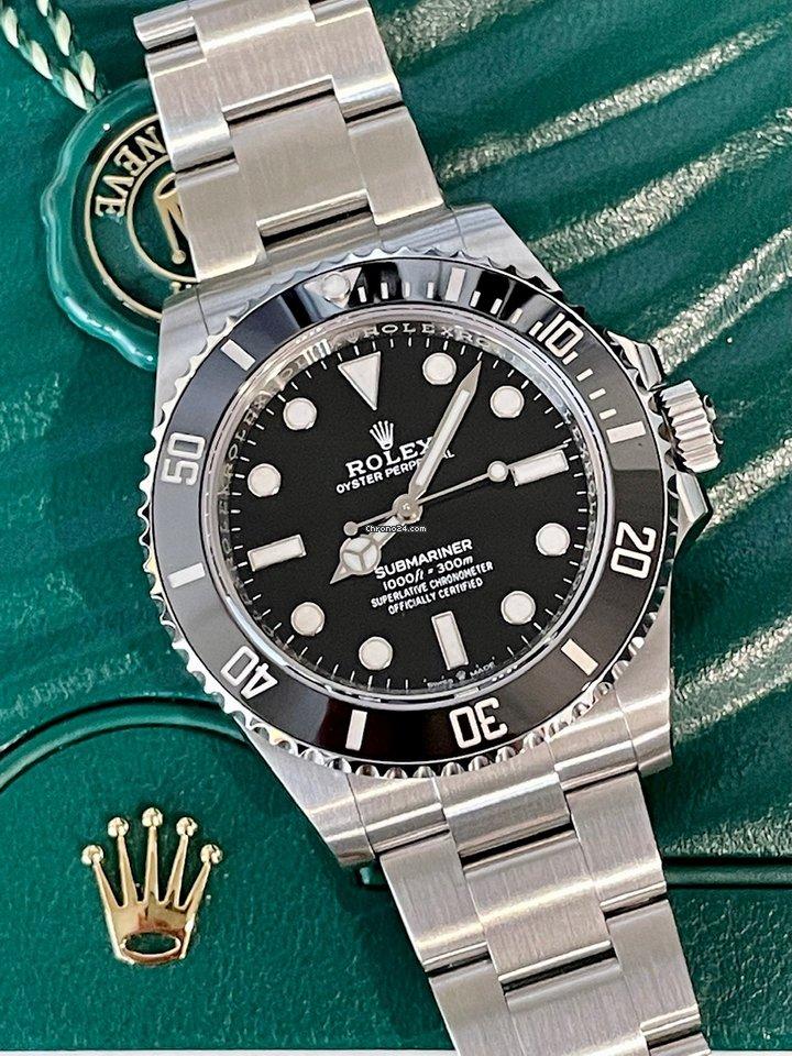 Rolex Submariner (No Date) 124060-0001 2021 новые