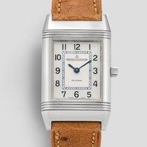 Jaeger-LeCoultre Silver Quartz White Arabic numerals pre-owned Reverso Lady