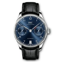 IWC Portuguese Automatic new Automatic Watch with original box and original papers IW500710