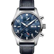 IWC Pilot Chronograph Steel 41mm Blue Arabic numerals United States of America, Georgia, Alpharetta