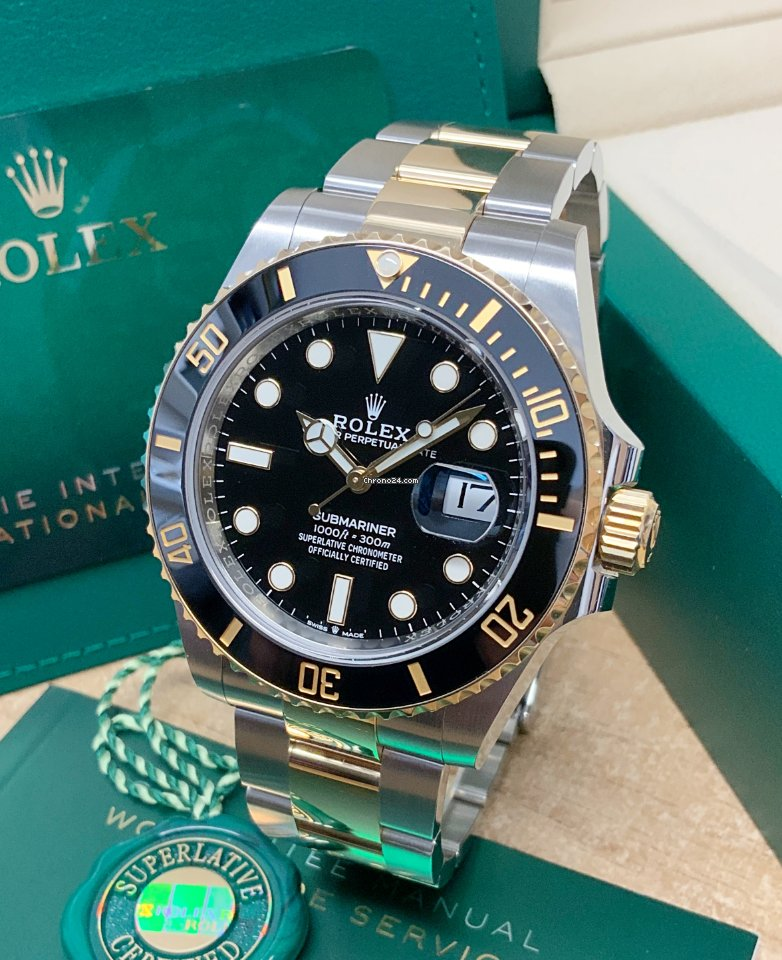 Rolex Submariner Date 126613LN 2021 pre-owned