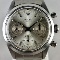 Rolex Chronograph Steel 36mm Silver No numerals
