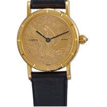 Corum Coin Watch Oro amarillo Oro