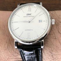 IWC IW356501 Aço Portofino Automatic 40mm usado