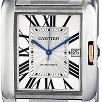 Cartier Tank Anglaise new 2019 Automatic Watch with original box and original papers W5310006