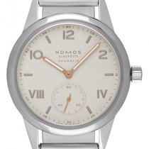 NOMOS Steel 37mm Automatic 748 new