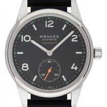 NOMOS Club Neomatik Steel 37mm Blue