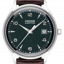 Union Glashütte Noramis Date Steel 40mm Green