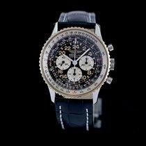 Breitling Navitimer Cosmonaute Steel 41mm Black Arabic numerals