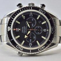 Omega Seamaster Planet Ocean Chronograph Stahl 45,5mm Schwarz Arabisch Deutschland, Iffezheim