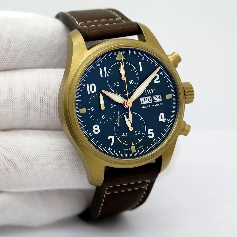 IWC Pilot Spitfire Chronograph IW387902 new