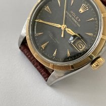 Rolex 6305 Gold/Steel 1956 Datejust 35mm pre-owned United States of America, New York, New York