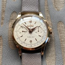 Eberhard & Co. Yellow gold Manual winding White pre-owned Extra-Fort