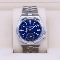 Vacheron Constantin Overseas Dual Time Steel 41mm Blue No numerals United States of America, Tennesse, Nashville