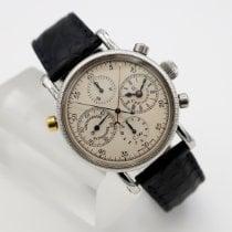 Chronoswiss Chronograph Rattrapante Steel 38mm White Arabic numerals United States of America, California, Santa Monica