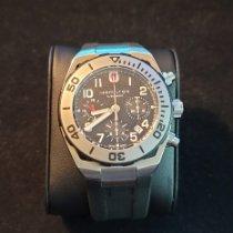 Hamilton Khaki Navy Sub pre-owned Black Chronograph Date Rubber