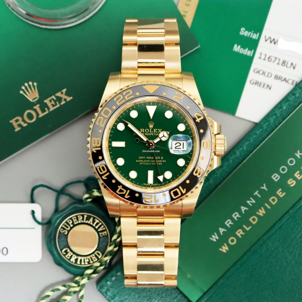 Rolex GMT-Master II 116718LN 2018 pre-owned