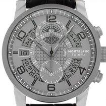 Montblanc Titanium Automatic Grey Arabic numerals 43mm new Timewalker