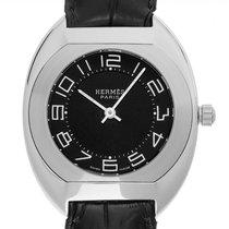 Hermès używany Kwarcowy 31mm Czarny Szkiełko szafirowe